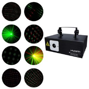 Red and Green Cluster Laser Effect (Hire Cost per Day)